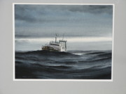 All - Trawler at Sea by Steve Mayo