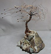Black Sculpture Originals - Treacherous Location by Annette Tomek