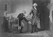 Accomplice Art - Treason Of Benedict Arnold, 1780 by Photo Researchers
