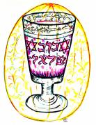 Cup Drawings - Treasure by Judith Herbert
