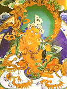 Riches Prints - Treasurer Of The Gods - Kubera 20 Print by Lanjee Chee
