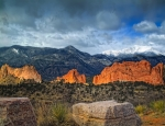 Colorado Springs Prints - Treasures of Colorado Springs Print by Tim Reaves