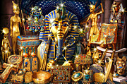 Ancient Jewelry Framed Prints - Treasures of Egypt Framed Print by Andew Farley