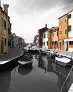 Italian Village Prints - Treasures of Life Print by Ivy Ho
