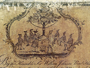 Agreement Posters - TREATY WITH NATIVE AMERICANS, c1760 Poster by Granger