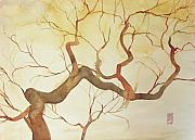 Branch Painting Originals - Tree by Alessandro Andreuccetti