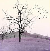 Tree Digital Art Prints - Tree Change Print by Holly Kempe