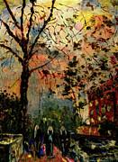 Tree Girls On Alton Road Print by Ricardo Di ceglia
