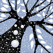 Clip-art Digital Art - Tree In Winter by Larry Almonte