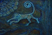 Award Mixed Media Originals - Tree Monkey by Lou Cicardo