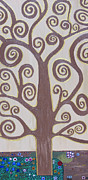 Vick Paintings - Tree Of Life by Angelina Vick