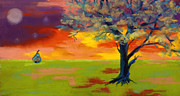 Pear Tree Pastels - Tree of Life by Diana Tripp