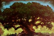 Fantasy Tree Pastels - Tree of Life by Eric Bakke
