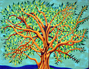 Mural Photo Posters - Tree Of Life Poster by Fraida Gutovich