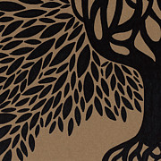 Tree Roots Drawings Prints - Tree of Life Print by HD Connelly