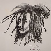 Dreadlocks Prints - Tree of Life Print by Ikahl Beckford