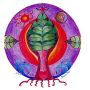 Tree Mandala Originals - Tree of Life by Jennifer ONeill Pickering