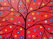 Tree Of Life Painting Print by Pristine Cartera Turkus