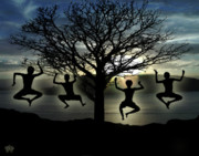 Silhouette Series - Tree of Life by Peter Piatt