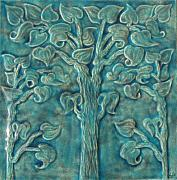 Tree Ceramics Originals - Tree of life by Shannon Gresham