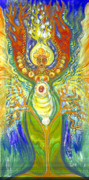 Visionary Art Painting Originals - Tree of Life by Shiloh Sophia McCloud