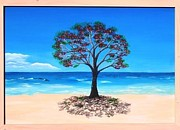 Sea Paintings - Tree Of Life by Tessa Dutoit