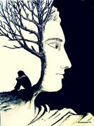 Tree Of Self Insight Print by Paulo Zerbato