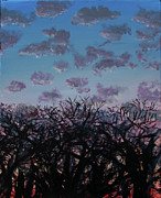 Evening Scenes Photos - Tree Sunset by Jamie Hartley