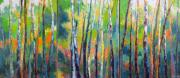 Melody Cleary Art Prints - Tree Tops Print by Melody Cleary