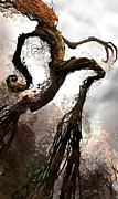 Featured Digital Art Metal Prints - Treeman Metal Print by Alex Ruiz