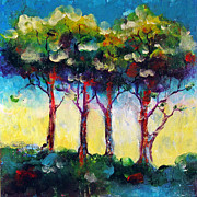 Faith Frykman Acrylic Prints - Trees 1 Acrylic Print by Faith Frykman