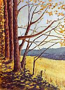 Tn Painting Prints - Trees in Fall I Print by Todd A Blanchard