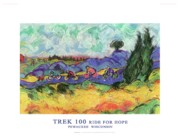 Kettle Moraine Prints - Trek 100 poster Print by Mykul Anjelo
