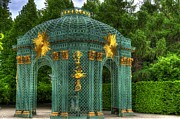 Berlin Germany Prints - Trellis at Schloss Sanssouci Print by Jon Berghoff