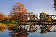 Trent Framed Prints - Trent-Severn Waterway National Historic Site Framed Print by Charline Xia