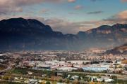 Alp Photos - Trento and the Alps in the background by Andre Goncalves