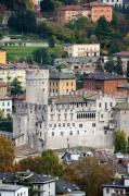 Alp Photos - Trento Castle by Andre Goncalves