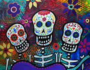 Tres Amigos Print by Pristine Cartera Turkus