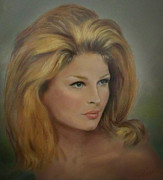 Female Pastels - Tres Beau Bouffant by Evie Cook