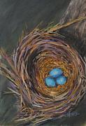 Nest Pastels - Tres Bleu by Cathy Weaver