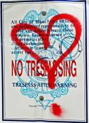 Police Art Posters - Trespassing Poster by Anahi DeCanio