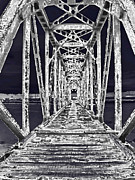 Surrealism Art Work - Trestle Bridge by Miss Dawn