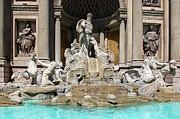 Trevi Fountain At Caesar's Palace Print by Clark Thompson