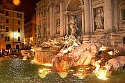 Jim Kuhlmann - Trevi Fountain at Night