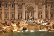 Rome Photos - Trevi Fountain by Janet Fikar
