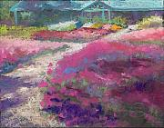 Fort Collins Pastels Originals - Trial Gardens in Fort Collins by Grace Goodson