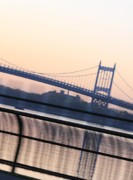 East River Photos - Triborough Bridge by Christopher Kirby