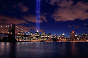 Nine Eleven Prints - Tribute In Light II Print by Rick Berk