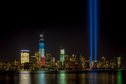 Clarence Holmes Photos - Tribute in Light IX by Clarence Holmes
