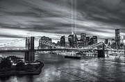 Tribute In Light V Print by Clarence Holmes
